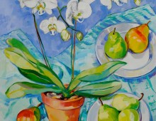 Orchid and Pears