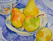 Pears and Sugar Bowl