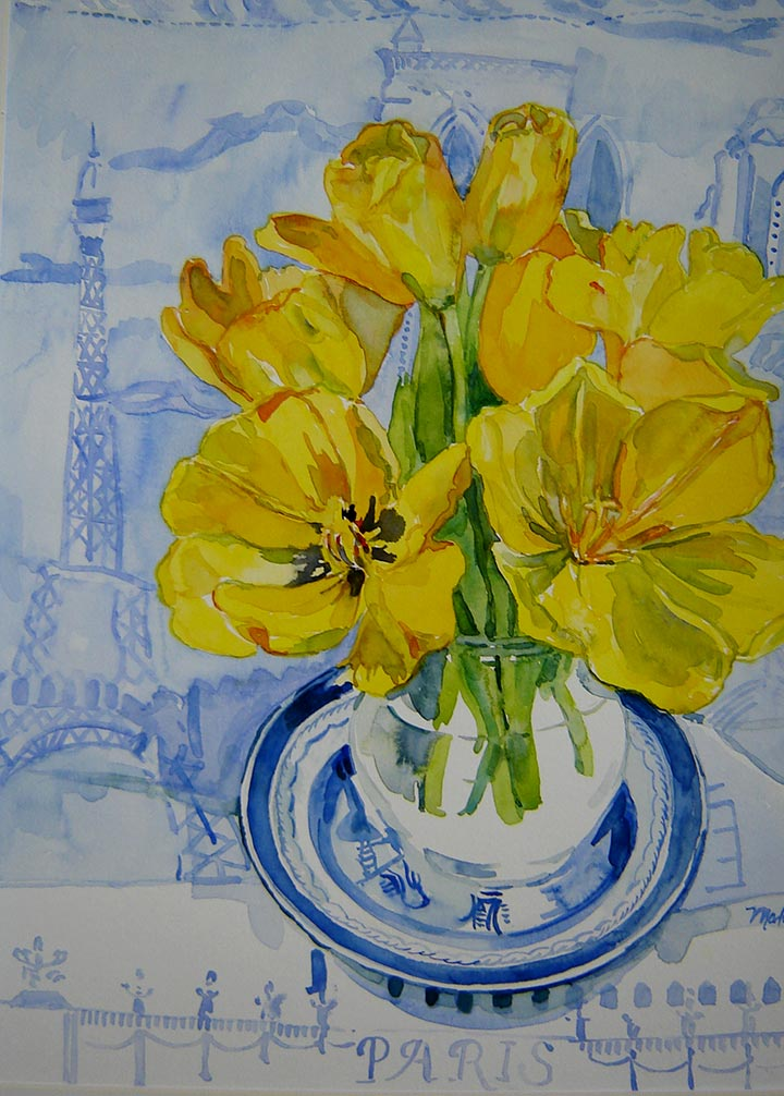 Martha Marlette – Buffalo, NY Artist » Paris Tulips