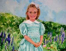 Portrait in Oil