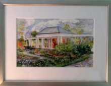 The Rose Garden Watercolor