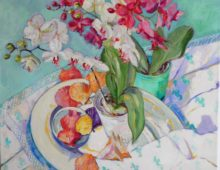 Orchids and Shells